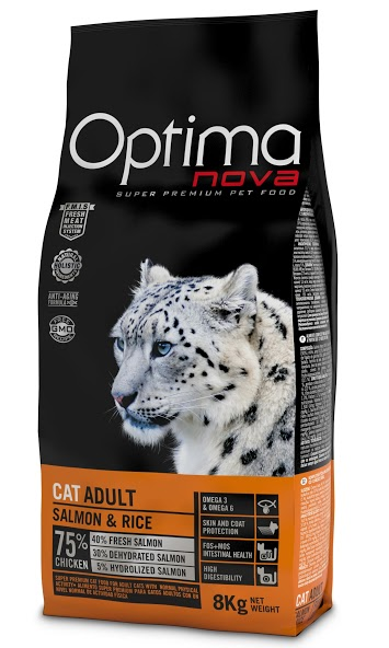 OPTIMAnova CAT ADULT SALMON 8kg