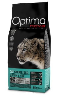 OPTIMAnova CAT ADULT STERILISED 8kg