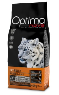 OPTIMAnova CAT ADULT Salmon&Rice 400g