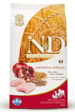 N&D Low Grain DOG Adult Chicken & Pomegranate 2x 12kg