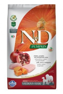 N&D Pumpkin DOG Adult M/L Chicken&Pomegranate 12kg
