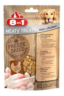 Pochoutka 8in1 Meaty Treats FD Chicken 50g