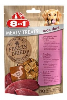 Pochoutka 8in1 Meaty Treats FD Duck 50g