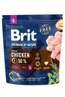 Brit Premium Dog by Nature Adult S 1kg