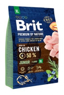 Brit Premium Dog by Nature Junior XL 3kg
