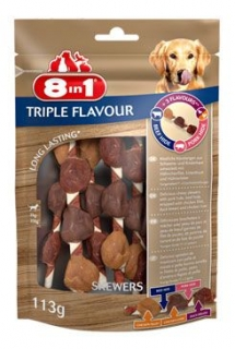 Pochoutka 8in1 Triple Flavour skewers (6ks)