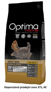 OPTIMAnova dog ADULT MINI GRAIN FREE 2kg